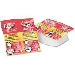 Folgers 06931 Regular Coffee Packets, 1.05 Ounces, Yield 10-12 Cups