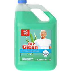 Mr. Clean Mr Clean Multipurpose Cleaner, w/Febreze, 128oz, Meadow/Rain