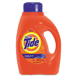 Tide Ultra Liquid Laundry Detergent, 50 oz. Bottles, 4/Carton