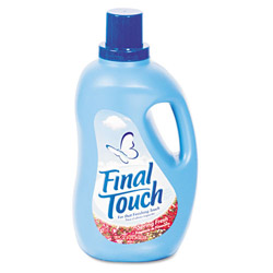 Final Touch® Ultra Liquid Fabric Softener, 120oz Bottle