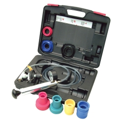Private Brand Tools UniTest Cooling System Pressure Tester Deluxe Kit