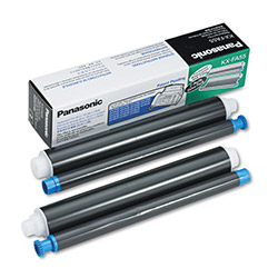 Panasonic Fax Film, 2 Rolls, Yields Approximately 150 Pages, Black
