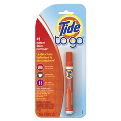 Tide To Go Instant Stain Remover Pen, Original Scent, 0.338 oz. Pen