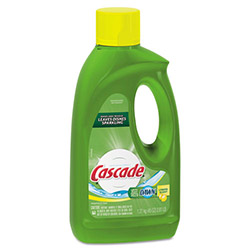 Cascade Automatic Dishwasher Detergent, Lemon, Case of 9