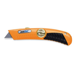 Pacific Handy Cutter Utility Knife with Rubber Grip Handle, Self-Retracting Blade, OE