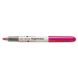 Pilot Spotliter Supreme Highlighter, Pocket Clip, Fluorescent Pink