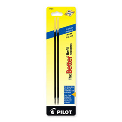 Pilot Refills for Nonretractable Ballpoint Pens, Fine Point, Blue Ink