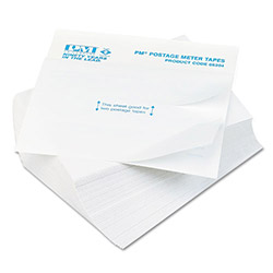 PM Company Postage Meter Self-Adhesive Double Tape Sheets for Neopost/Pitney Bowes