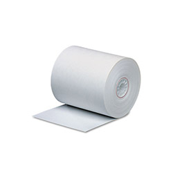 "PM Company Bulk Thermal Cash Register Rolls, 2-Sided, 3-1/8"" x 273"", White"