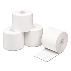 "PM Company Direct Thermal Printing Thermal Paper Rolls, 2-1/4"" x 400 ft., White, 24/Carton"