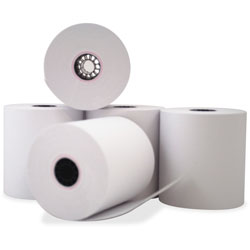 "PM Company Bulk Self-Contained Financial Rolls, 1 Ply, 3"" X 150 Feet"