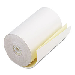 "PM Company Bulk Carbonless Duplicate Cash Register Rolls, 4 1/2""x90', White/Canary, 24 Rolls/Ctn"