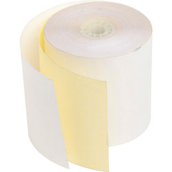 "PM Company Bulk credit card machine roll, 2 ply with c carbonless, 2 3/4""x90'"