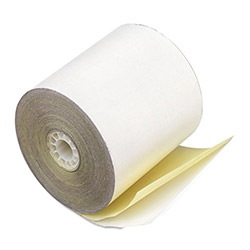 "PM Company Bulk Self Contained Financial Rolls, 2 Ply, 50 Rolls/Carton, 3"" x 90 Feet"