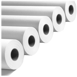 "PM Company Copy20 24"" X 500 Ft Wide Format Paper, White, 2 Rolls"