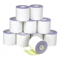 "PM Company Bulk Credit/Debit Printer Rolls for Verifone 420/460, 2 1/4"" x 70 ft., 50/Carton"