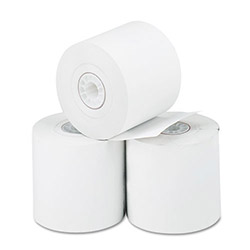 "PM Company Thermal Calculator Paper Rolls, 2 1/4"" x 165 ft., 3 Rolls per Pack"