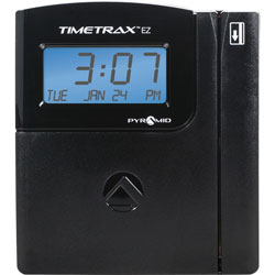 Pyramid Time Trax EZ Ethernet Time & Attendance System, 5 7/10 x 5 x 2