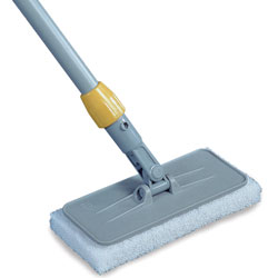 Rubbermaid Upright Scrubber Pad Holder with Universal Locking Collar, Gray