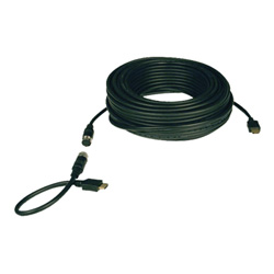 Tripp Lite Easy Pull Monitor Cable with Connectors - Video Cable - HDMI - 50 Ft