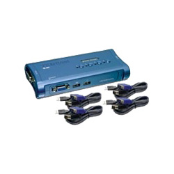Trendnet TK 407K - KVM Switch - 4 Ports