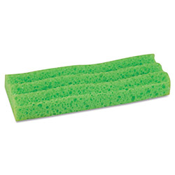 "Quickie Sponge Mop Head Refill, 9"", Green"