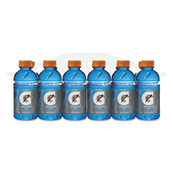 Gatorade G-Series Perform 02 Thirst Quencher, Berry, 12 oz Bottle, 24/Carton