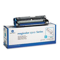 Minolta Toner Cartridge for Magicolor 2300, Cyan