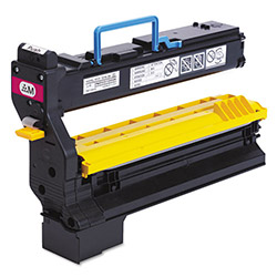 QMS 1710602007 High-Yield Toner, 12000 Page-Yield, Magenta