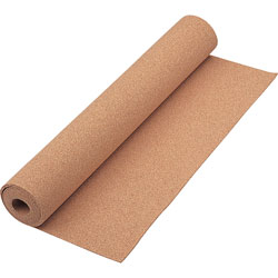 "Quartet Cork Tile Roll for Bulletin Boards, 24"" x 48"""