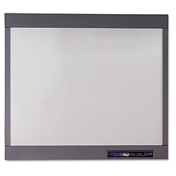Quartet InView Custom Whiteboard, 23 x 20, Graphite Frame