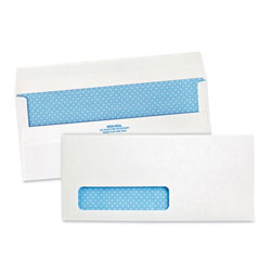 Quality Park Envelopes, Left Window, Security Tint, #10, 500/Box