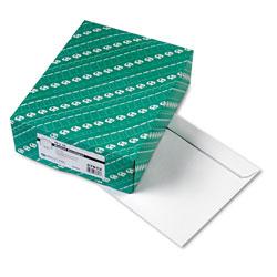 Quality Park White Gummed Booklet Envelopes, 10 x 13, 100/Box