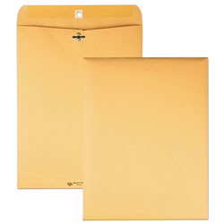 Quality Park Clasp Envelopes, Kraft, 10 x 13, 32 lb., 100/Box