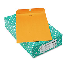 Quality Park Clasp Envelopes, Kraft, 10 x 15, 32 lb., 100/Box