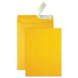 "Quality Park Durable Catalog Envelopes, 9"" x 12"", Kraft"
