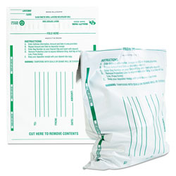 Quality Park Sequentially Numbered Night Deposit Bags, Opaque, 10w x 13h, 100/Pack