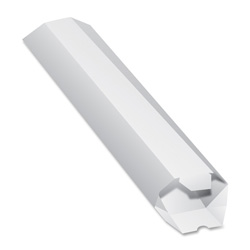 "Quality Park Flat Mailing Tubes, 2"" x 15"", 25/CT, White"