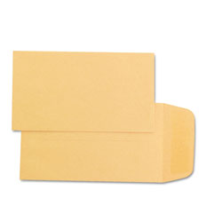 Quality Park Kraft Coin/Small Parts Envelopes, 28 lb., Size #1, 2 1/4 x 3 1/2, 500/Box