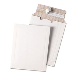 "Quality Park Mailing Envelope, Foam Lined, 2"" Exp, 10"" x 13"", White"