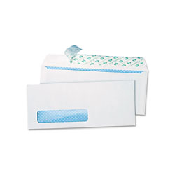 Quality Park Envelopes, White, #10, 4 1/8 x 9 1/2, 500/Box