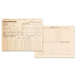 Quality Park Employee Record Jacket, Manila, 100/Box