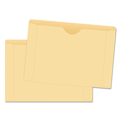 Quality Park Cameo File Jackets with Thumb Cut, 9 1/2 x 11 3/4, 100/Box
