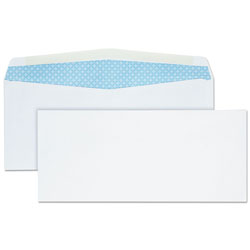 Quality Park Security Envelopes, Diagonal Seam, V Flap, #10, 4 1/8 x 9 1/2, 500/Box
