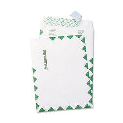 Quality Park Catalog/Open End Envelopes, 100/Box, 6 x 9, First Class, White