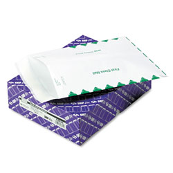Ship Lite® Flat Catalog Envelopes, White with 1st Class Brdr, 10x13, 100/Bx
