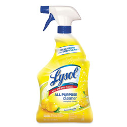 Lysol Trigger Bottle All Purpose Cleaner, Lemon Scented, 32 Oz