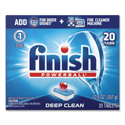 Finish® All-in-1 Dishwashing Tabs, Fresh