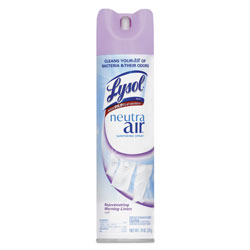 Lysol Sanitizing Spray Morning Linen™ Scent RTU Aerosol Can 10-oz.