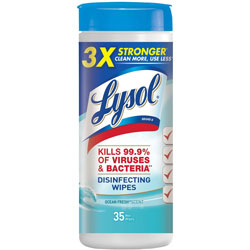Lysol Disinfecting Wipes, Ocean Fresh Scent